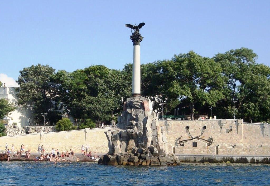 памятник затопленным кораблям 2
