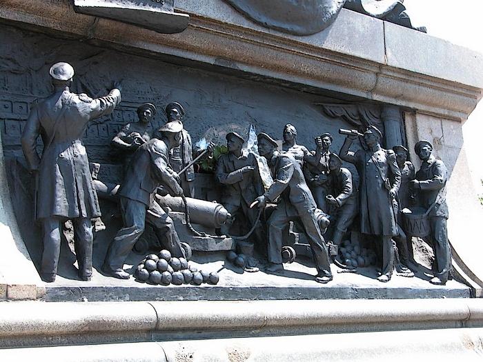 памятник нахимову 2
