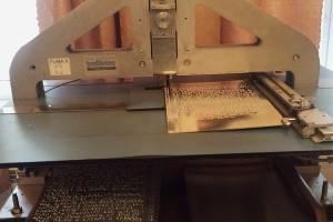 Оборудование для печати книг по брайлю. Описание по ссылке